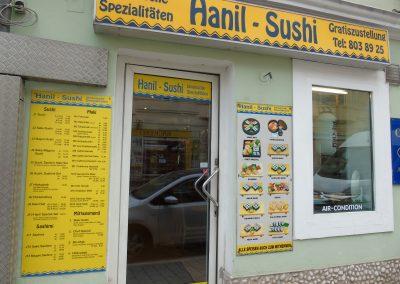 Hanil Sushi vorne